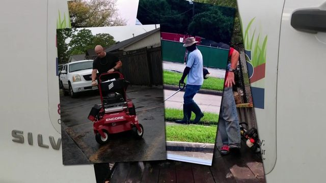 Equipment stolen from lawn company run by veterans