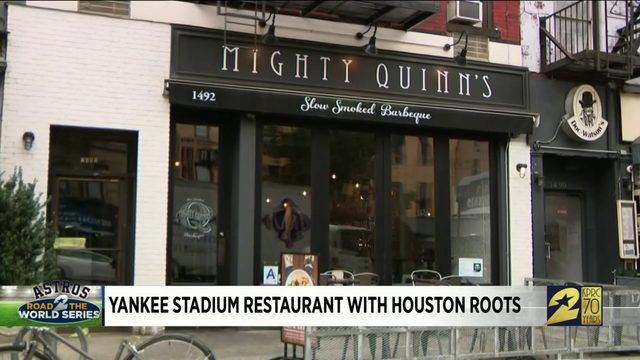 Yankee Stadium restaurant with Houston roots