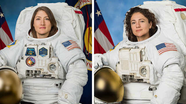 LIVE STREAM: International Space station's first all-female spacewalk…
