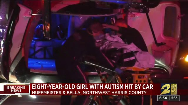 Child critical after being hit by car