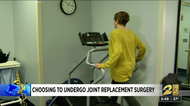 Choosing to undergo joint replacement surgery
