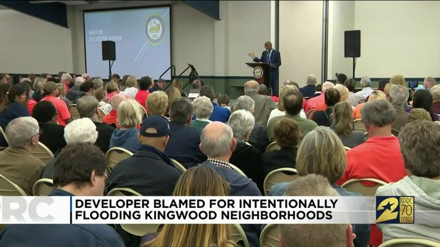 Developer blamed for intentionally flooding Kingwood neighborhoods