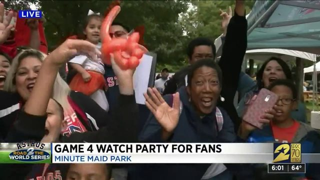 Game 4 watch party for fans