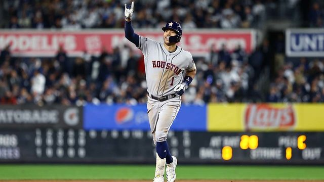 ONE WIN AWAY: Astros ride pair of 3-run homers to Game 4 ALCS win