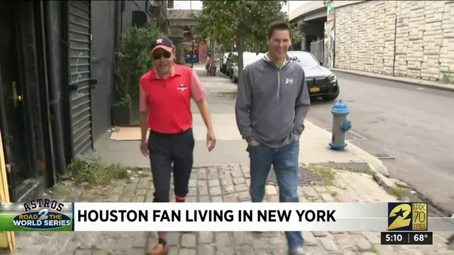 Houston fan living in New York
