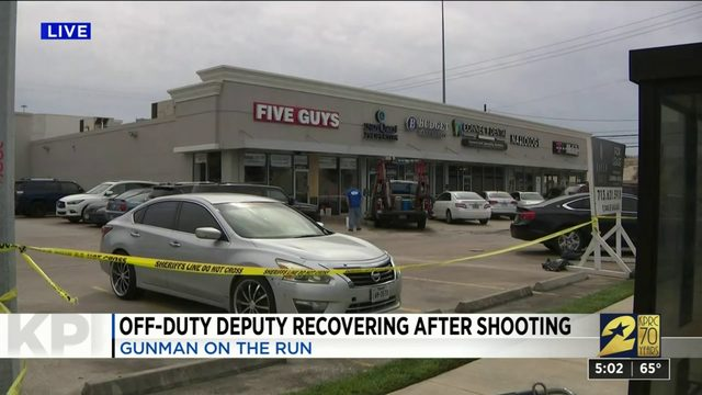 Off-duty deputy recovering after shooting