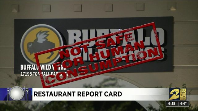 Restaurant Report Card; Oct. 17, 2019