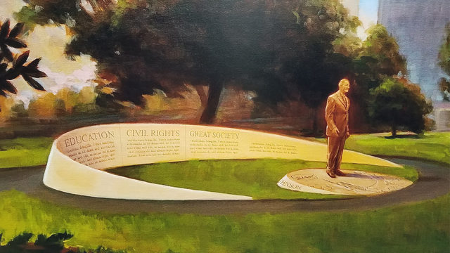 New LBJ monument in downtown to honor legacy of late president