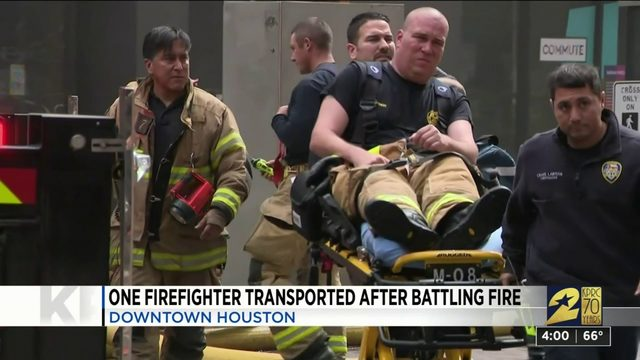 'Very stubborn fire.' HFD says downtown fire under control but not out…