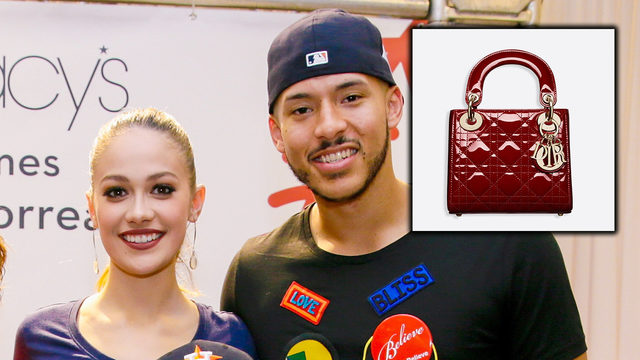Houston Astros' Carlos Correa purchases luxe Dior handbag for fiancee…