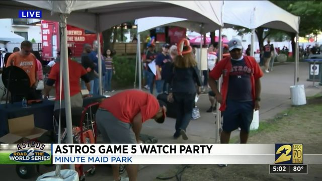 Astros Game 5 watch party