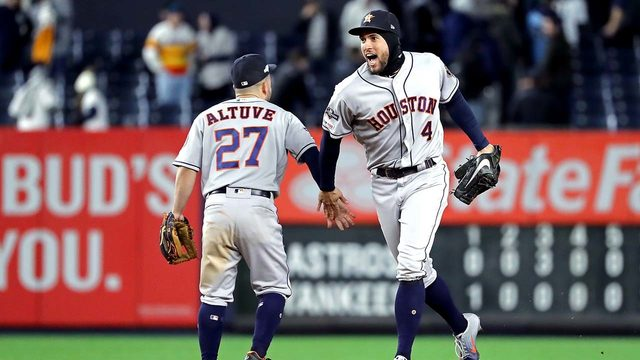 FOLLOW THE GAME: Astros take on Yankees in Game 5 of ALCS