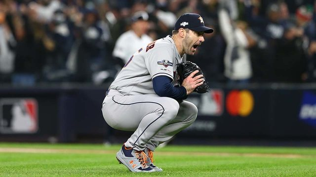 FOLLOW THE GAME: Astros trail Yankees in Game 5 of ALCS