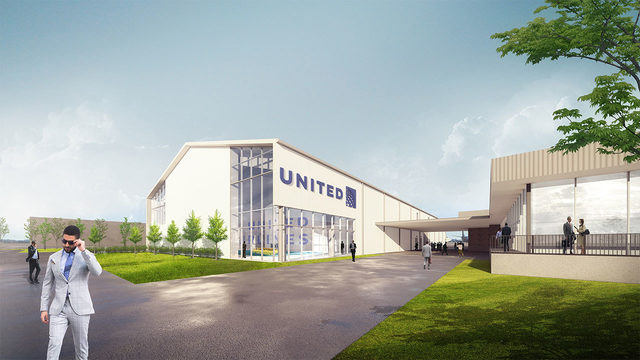 United Airlines breaks ground on $20M flight attendant training facility