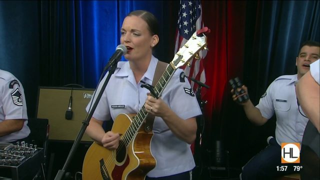 "Wild Blue Country performs ""Here We Are"" 