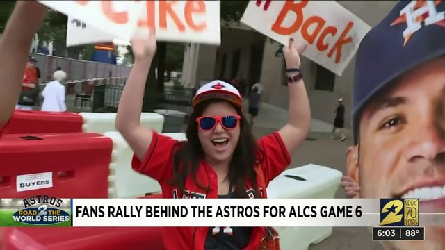 Fans Rally Behind the Astros for ALCS Game 6