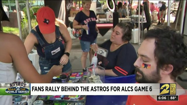 Fans Rally Behind the Stros for ALCS Gme 6