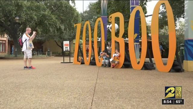 Houston Zoo kicks off Zoo Boo