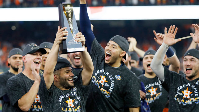 See how Houstonians, local leaders, celebs react to Astros ALCS win