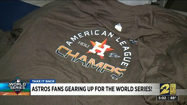 Astros Fans Gearing Up for the World