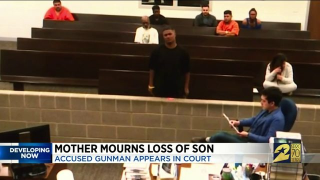 Mother Mourns Loss of Son
