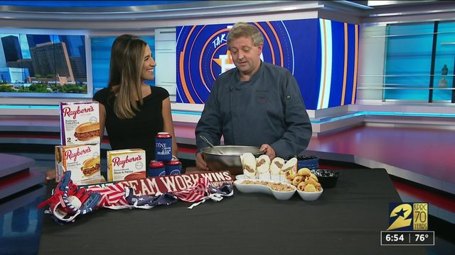 Party food ideas for your World Series Party