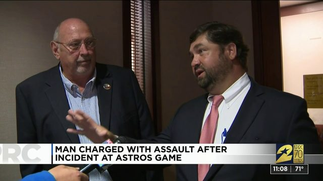 Astros fan faces assault charge after allegedly slapping Yankees…