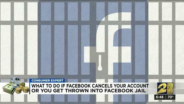 What to do if Facebook cancels your account