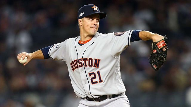 Greinke, Astros recognized for defensive strength