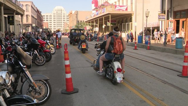 Here are the following street closures in Galveston due to Lone Star Rally