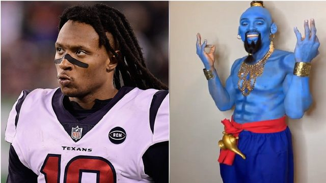 You have to see DeAndre Hopkins' Halloween costume