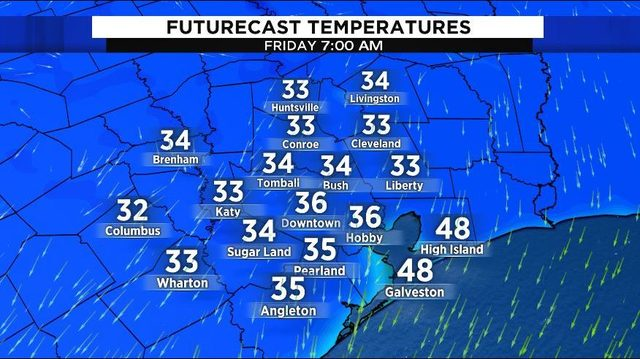 There's a freeze warning for several counties starting early Friday