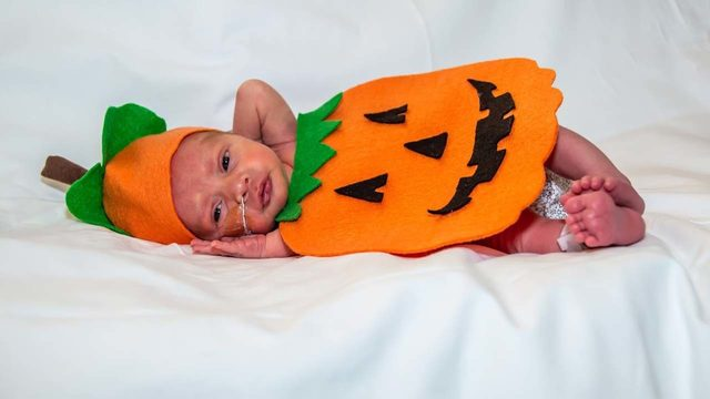 Baby's first Halloween: Nurses dress up preemies in NICUs at The…