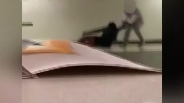 Video shows Campbell Middle School student being dragged by faculty member