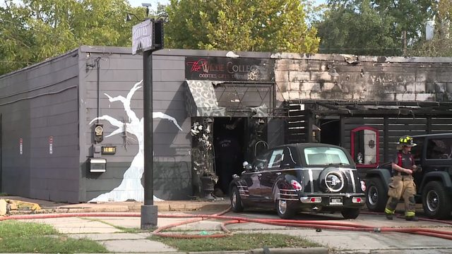 Firefighters: Man threw gasoline into Heights shop, started blaze
