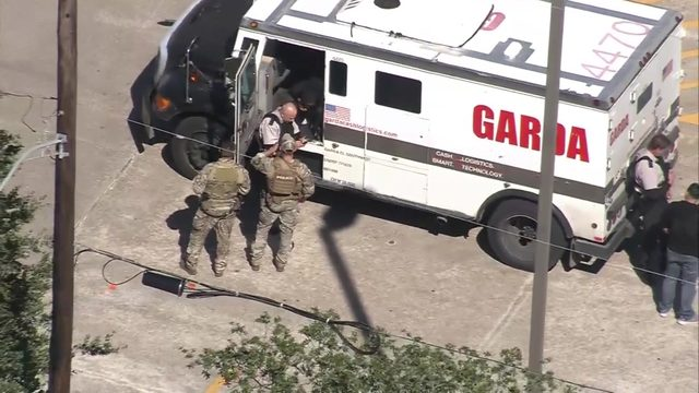 Houston leads nation in armored truck robberies