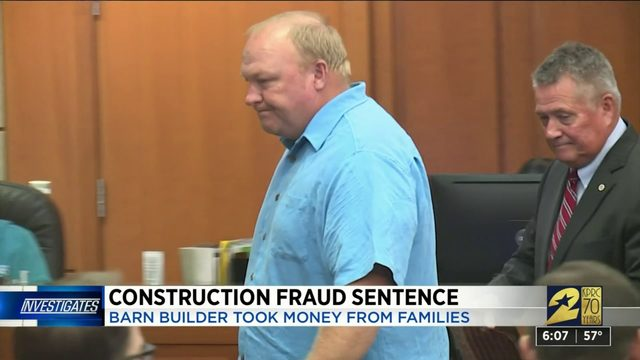 Construction fraud sentence