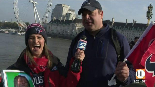 Texans fans check out London landmarks ahead of the big game | HOUSTON…