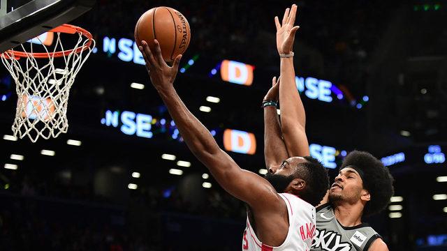 Nets slow down Harden, Rockets in 123-116 victory