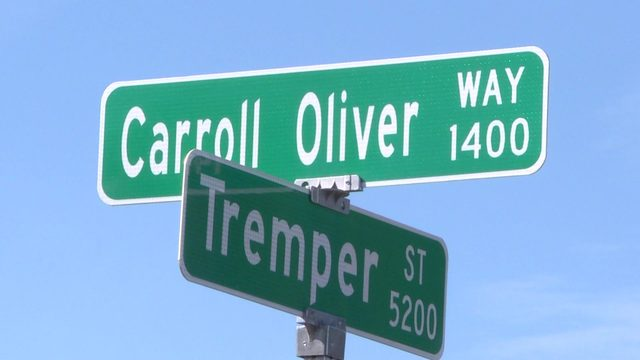 Pillar in 5th Ward community honored with new street sign