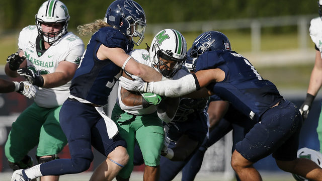Green leads Marshall to 20-7 win over Rice