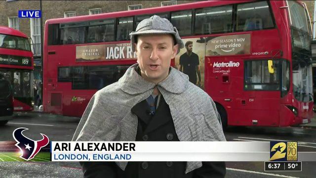 Sherlock Ari takes London
