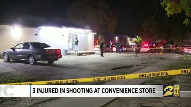3 Injured in Shooting at Convenience Store