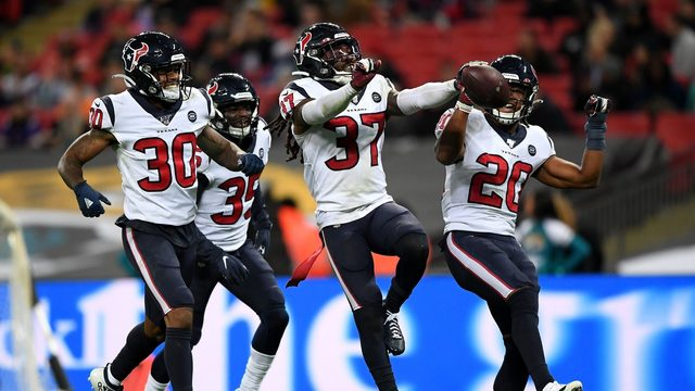 PHOTOS: Texans win big with 26-3 victory over Jaguars