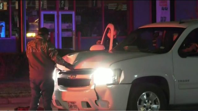 Suspected DWI driver hits man, woman crossing street in north Houston,…
