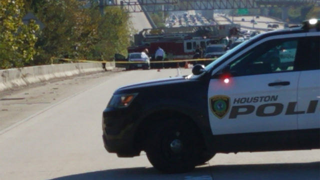 Driver killed fatally shot on 59 Eastex Freeway near Rankin Road, police say