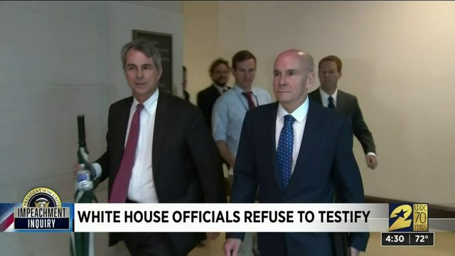 White House officials refuse to testify