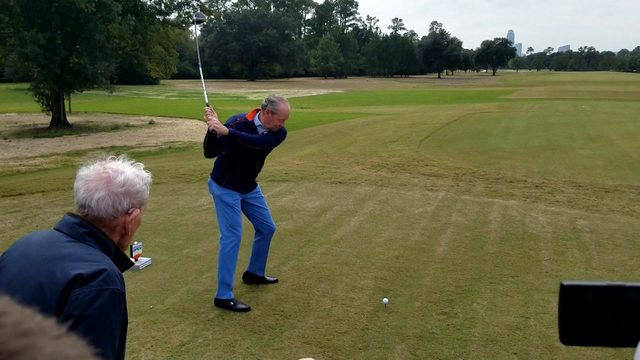 How you can play golf in Houston on the same course as the pros