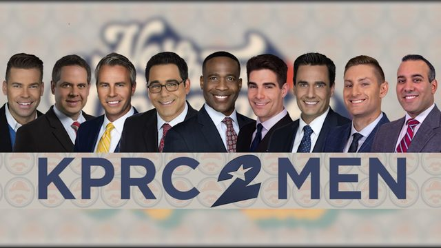 KPRC 2 men participate in No-Shave November