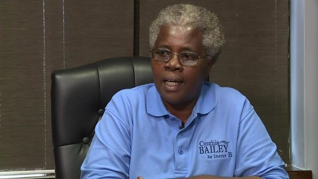 Candidate wants Cynthia Bailey thrown out of District B runoff